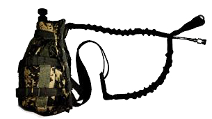 Tank Mounted in a Pouch